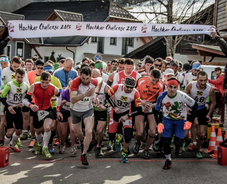 Pressefoto // Hochkar Challenge 2016 // Traillauf -Start// © virgosystem.cc