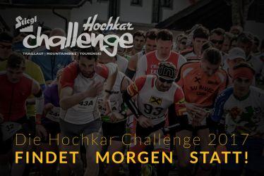 UPDATE – Die Hochkar Challenge 2017 findet morgen statt!
