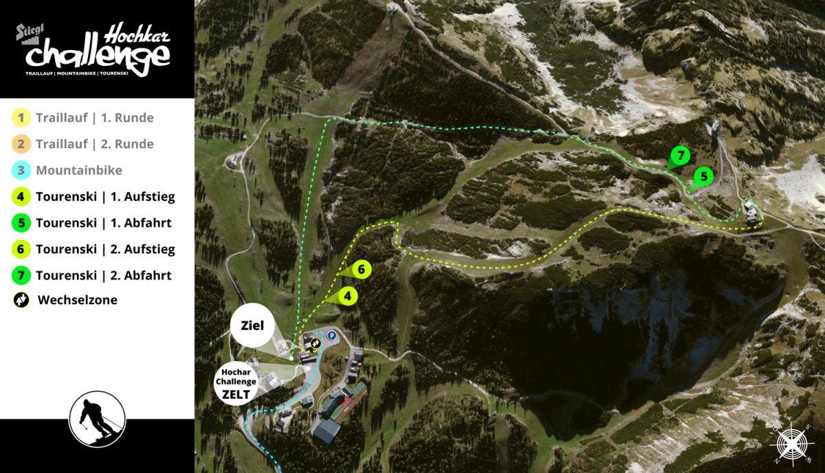 Neuer Streckenverlauf für den 22. April 2017