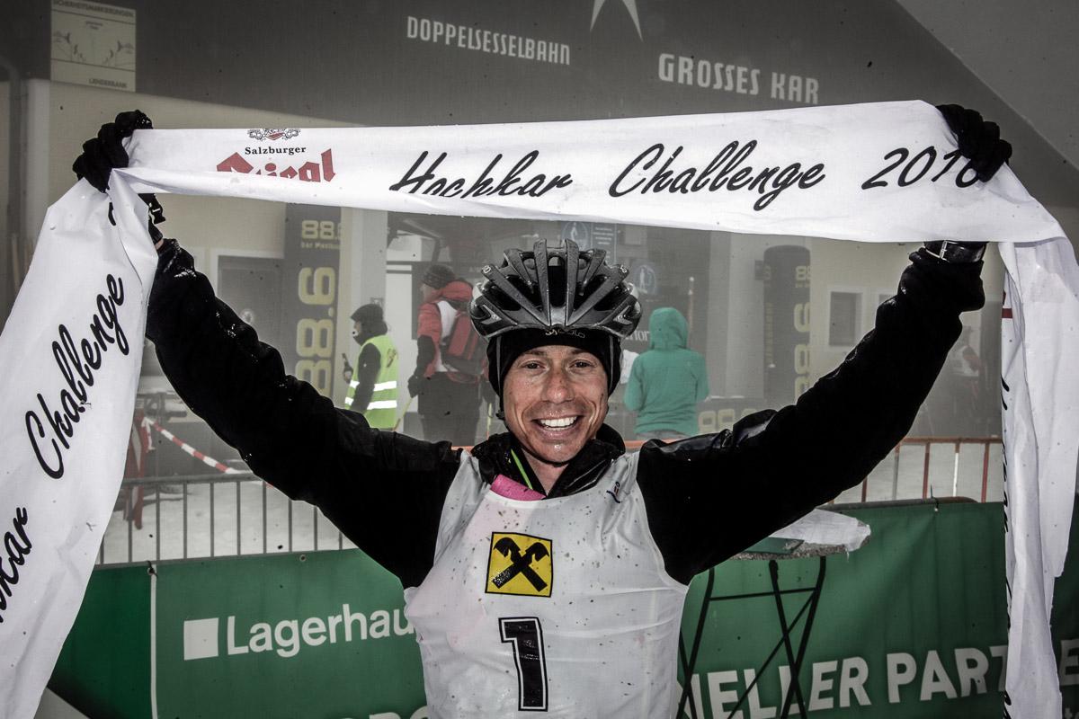 Sieger der Hochkarchallenge 2016 - Mario Fingerlos