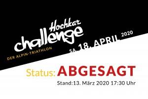 Hochkar Challenge 2020 ABGESAGT