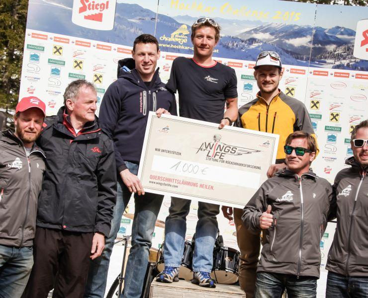 Pressefoto // Hochkar Challenge 2016 // Siegerehrung // © virgosystem.cc