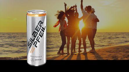 SILBERPFEIL ENERGY DRINK – im Startsackerl